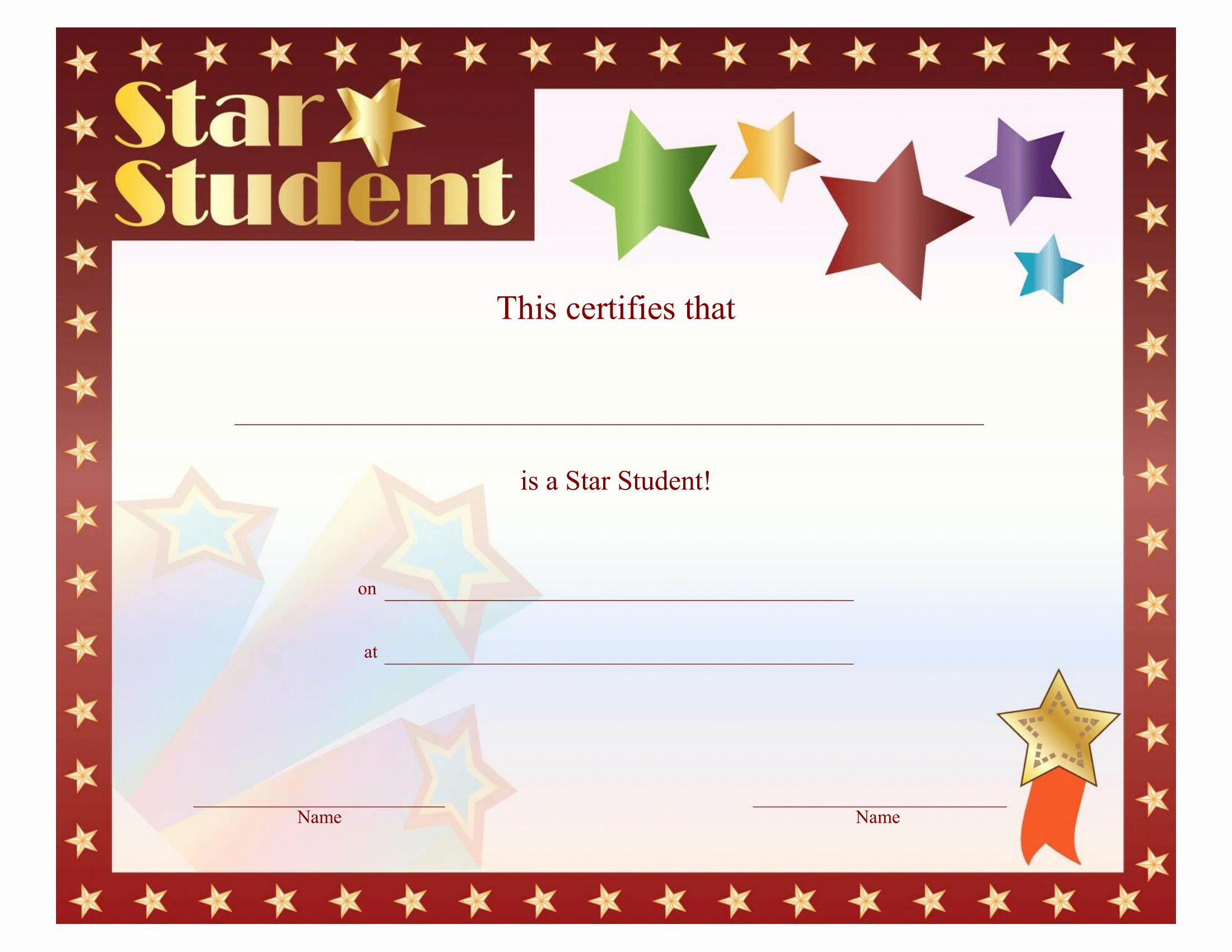 Student Of the Month Certificate Word Fresh Certificates Download Free Business Letter Templates and