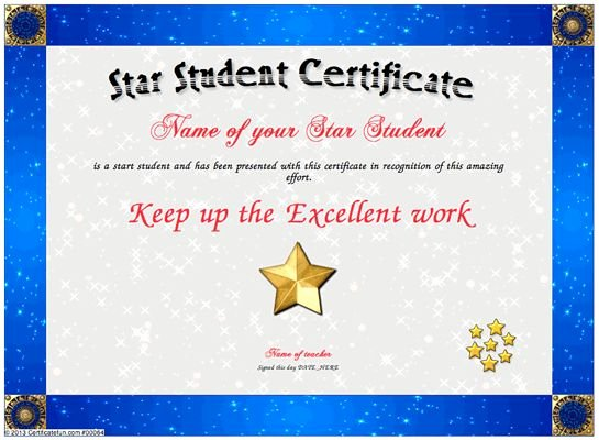 Student Of the Week Certificate Template Elegant 8 Best Images About Fun Certificate Templates On Pinterest