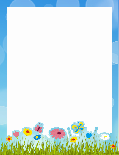Summer Borders for Word Documents Awesome Page Borders – Free Printable Borders and Clip Art