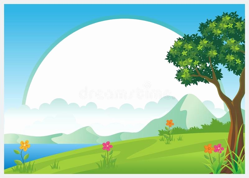 Summer Camp Certificate Template Inspirational Kids Diploma Certificate Background Stock Vector