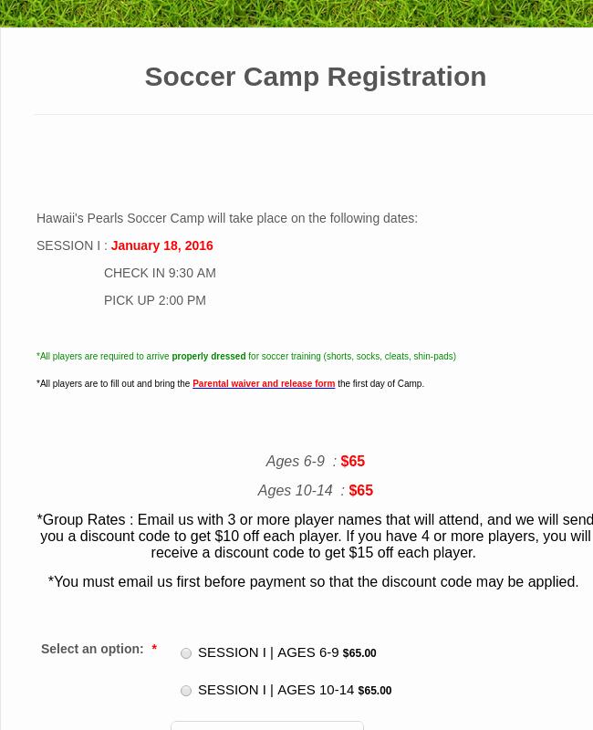 Summer Camp Registration form Template Elegant Summer Camp Enrollment form Template