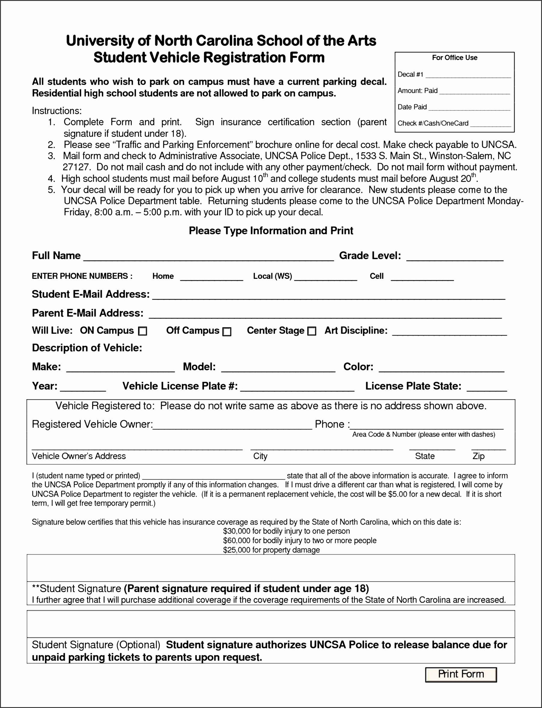 Summer Camp Registration form Template Inspirational 6 Registration Template for Summer Camp Sampletemplatess
