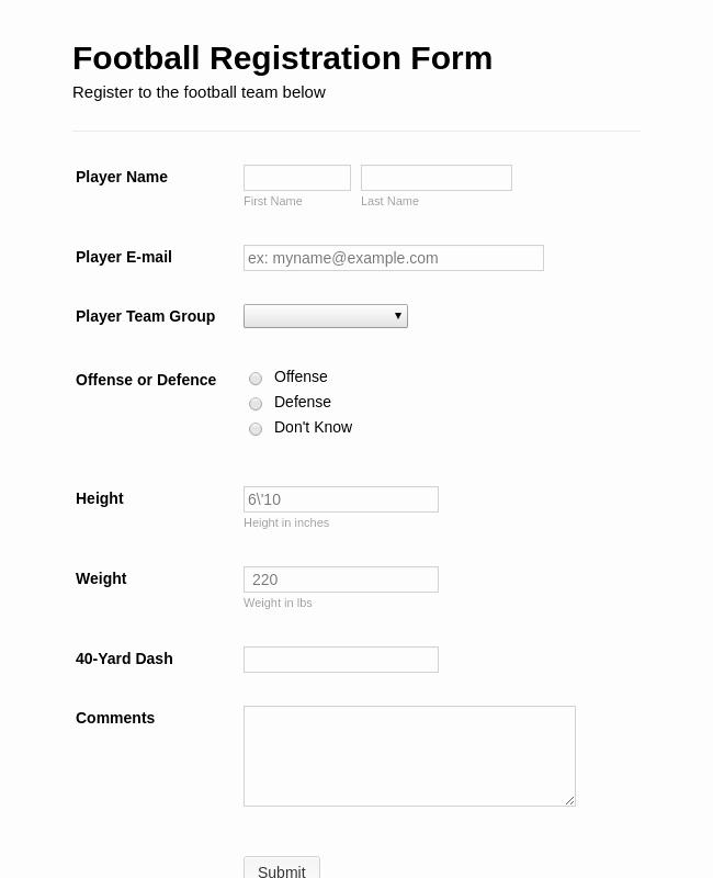 Summer Camp Registration form Template Unique Summer Camp Detailed Registration form Template