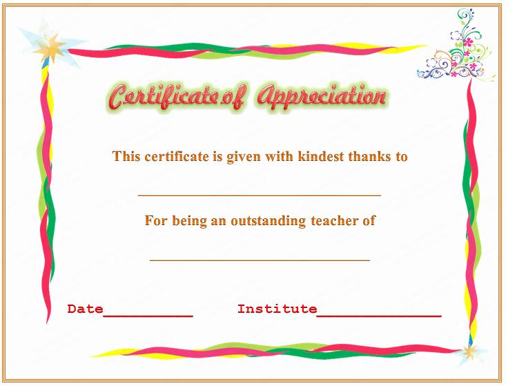 Sunday School Teacher Appreciation Certificates Elegant Sample Certificate Ownership Letter Ferraricalifornia