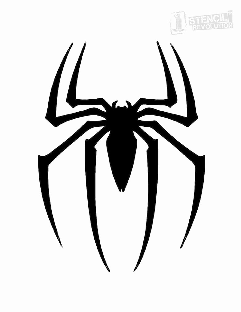 Superhero Stencils for Sale Fresh Spider Stencil Super Hero Lovers