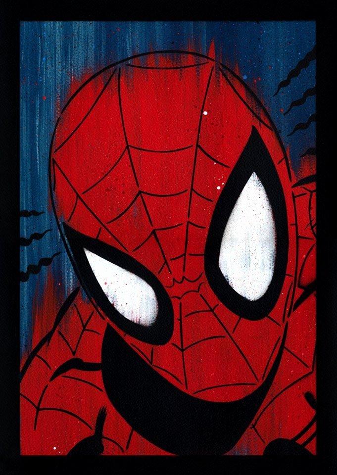 Superhero Stencils for Sale Inspirational Spider Man Spray Painted