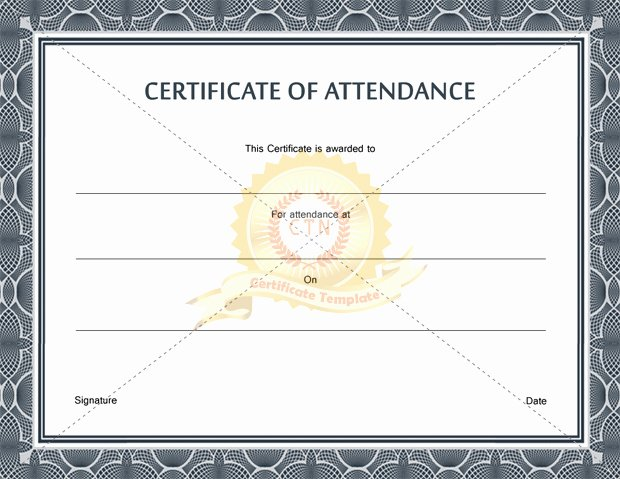 Talent Show Participation Certificates Awesome Certificate Participation Template
