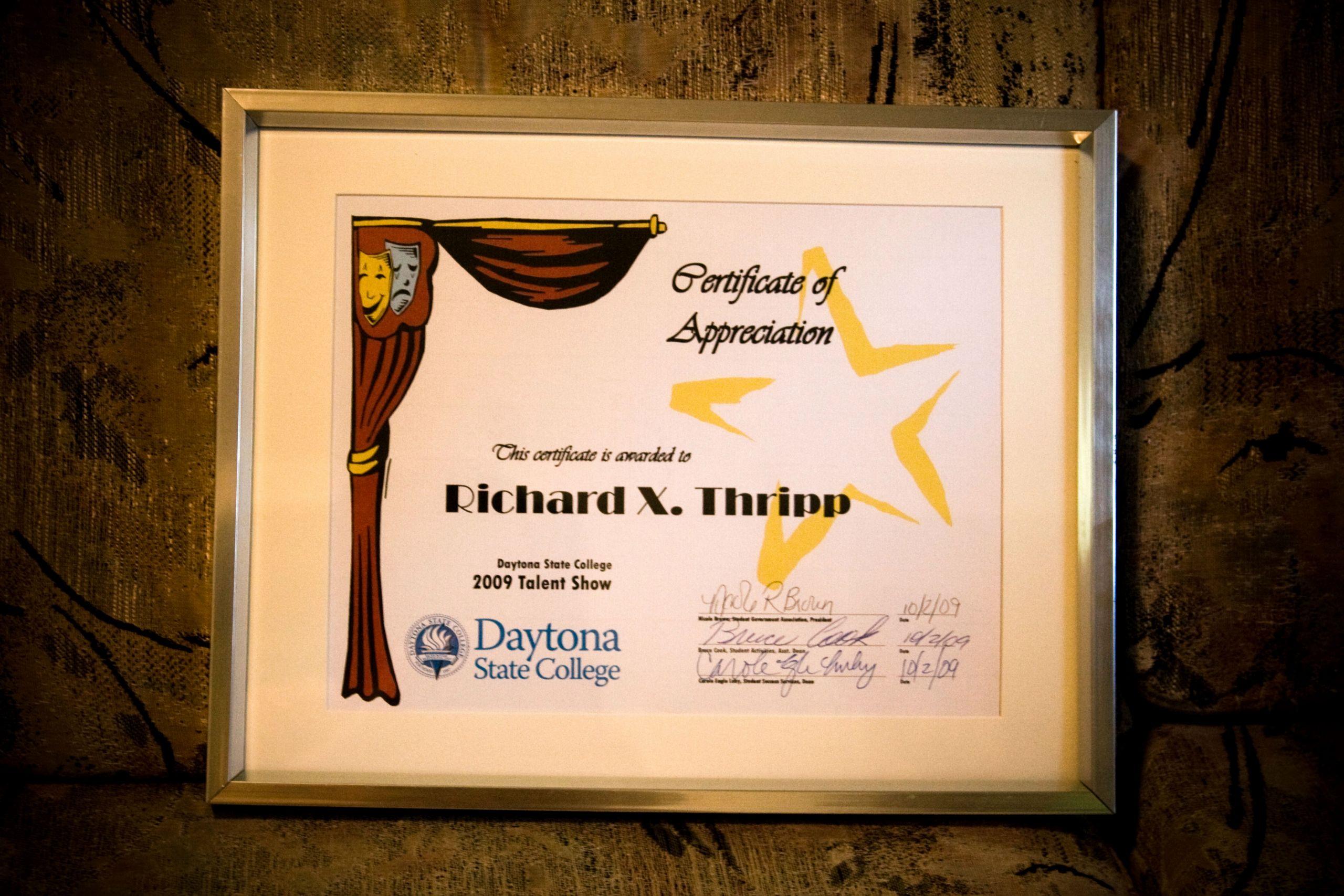 Talent Show Participation Certificates Best Of Talent Show Certificates to Print