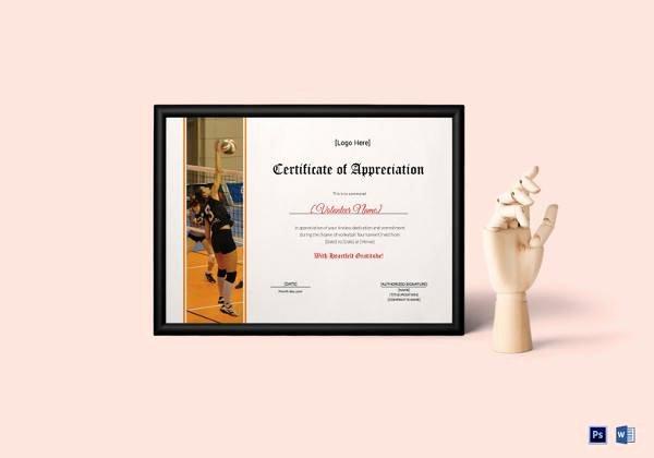 Teacher Appreciation Certificate Pdf Fresh Free 35 Best Printable Certificate Of Appreciation