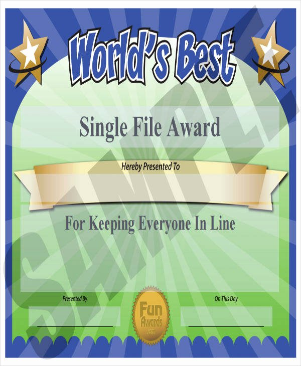 Teacher Appreciation Certificate Pdf Inspirational 40 Sample Award Certificates Word Psd Ai Eps Vector