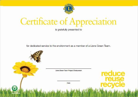 Teacher Appreciation Certificate Pdf Lovely Sample Certificate Of Appreciation Temaplate 12