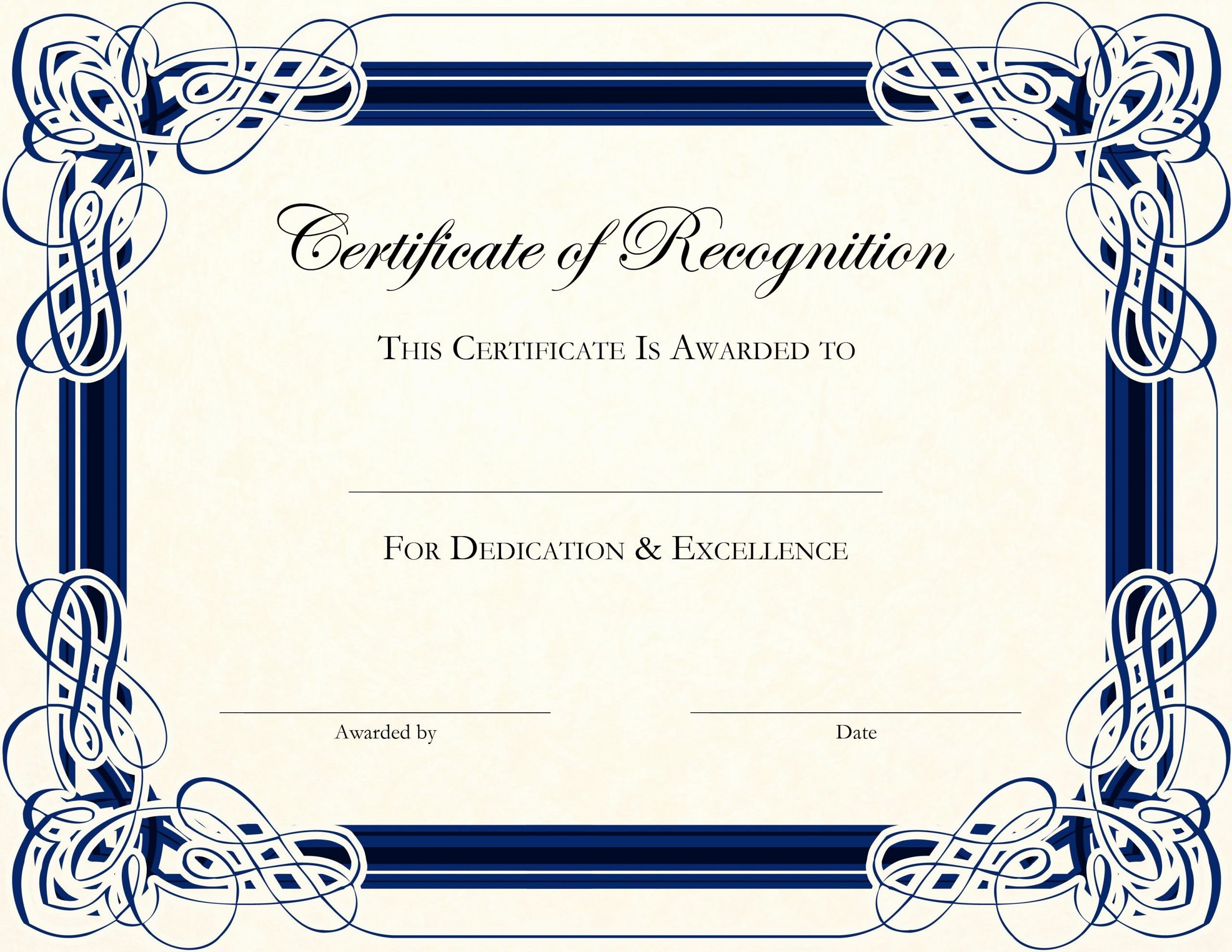 Teacher Appreciation Certificate Template Free Fresh Free Printable Certificate Templates for Teachers