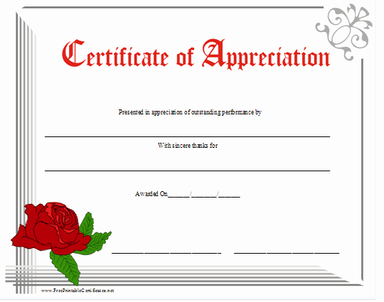 Teacher Appreciation Certificate Template New Certificate Appreciation Quotes Quotesgram