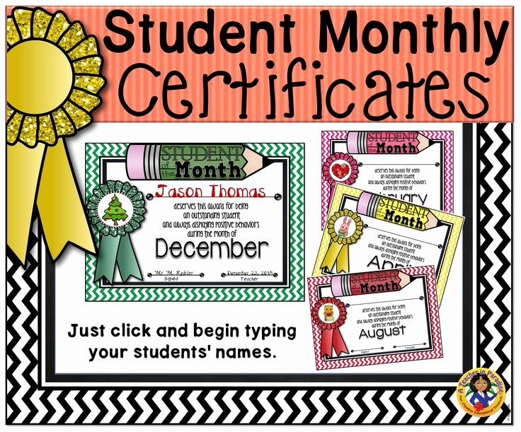 Teacher Of the Month Certificate Awesome 186 Best Images About A Teacher In Paradise Certificates