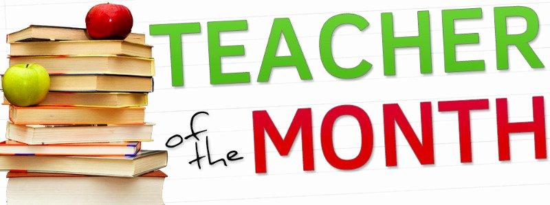 Teacher Of the Month Certificate Beautiful Doniphan Trumbull Schools Elementary Tireless Teacher Award