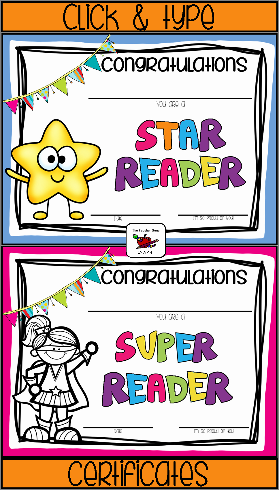 Teacher Of the Month Certificate Template Awesome Reading Awards Certificates