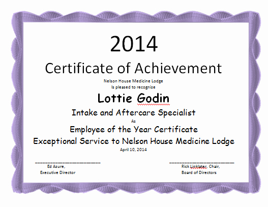 Teacher Of the Month Certificate Template Luxury Employee the Year Certificate Template Microsoft Word