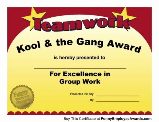 Teacher Of the Month Certificate Template Luxury Funny Teacher Awards