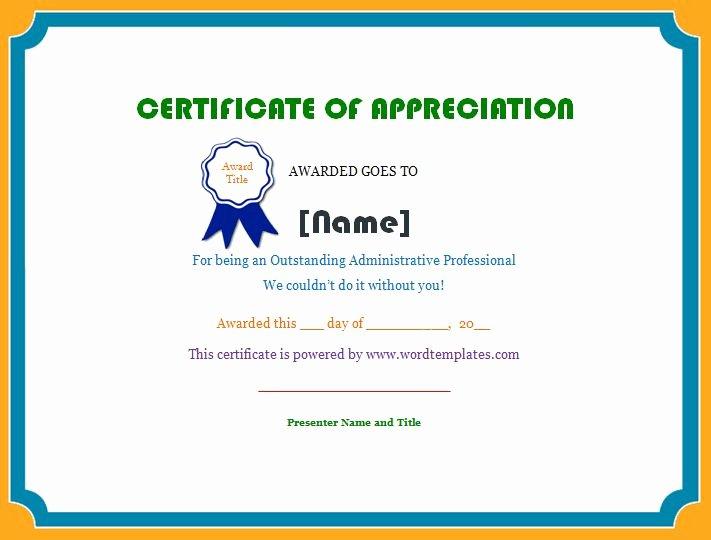 Teacher Of the Month Certificate Template Unique Employee Certificate Of Appreciation
