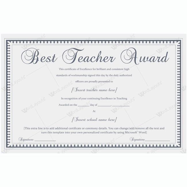 Teacher Of the Year Award Template Best Of Best Teacher Award 04 sohail Abbas