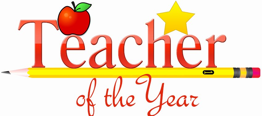 Teacher Of the Year Certificate Awesome Teacher Of the Year Cheshire Public Schools Clipart