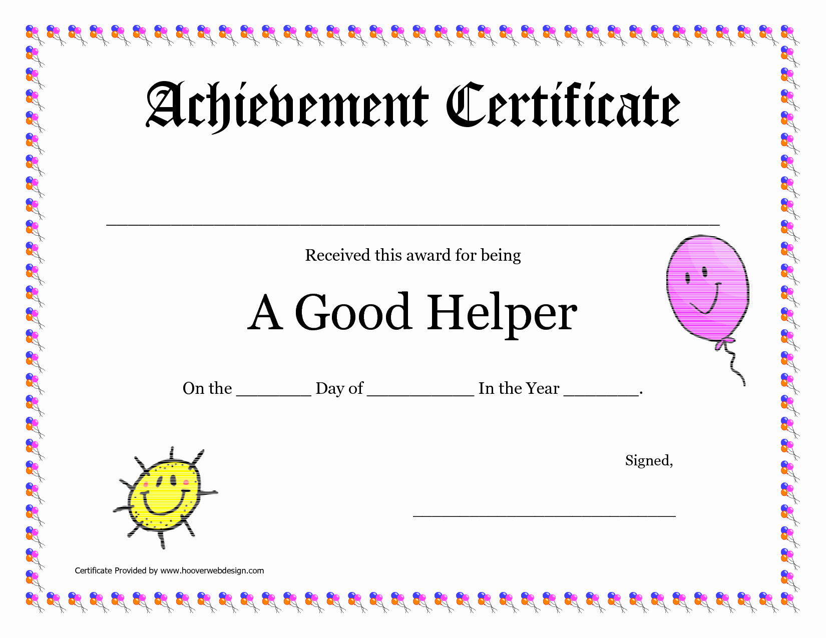 Teacher Of the Year Certificate Printable Unique Printable Award Certificates for Teachers