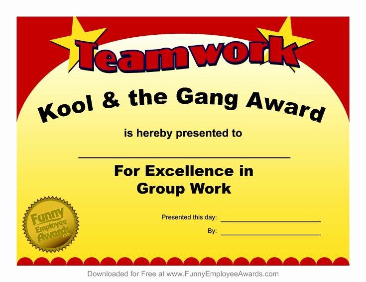 Teacher Of the Year Certificate Wording Inspirational Fun Award Templatefree Employee Award Certificate