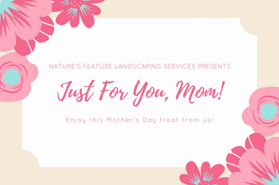 Teeth Whitening Gift Certificate Template Lovely Pink White Floral Mother S Day Gift Certificate
