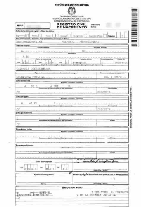 Template for Birth Certificate Translation Lovely Birth Certificate Translation Of Public Legal Documents