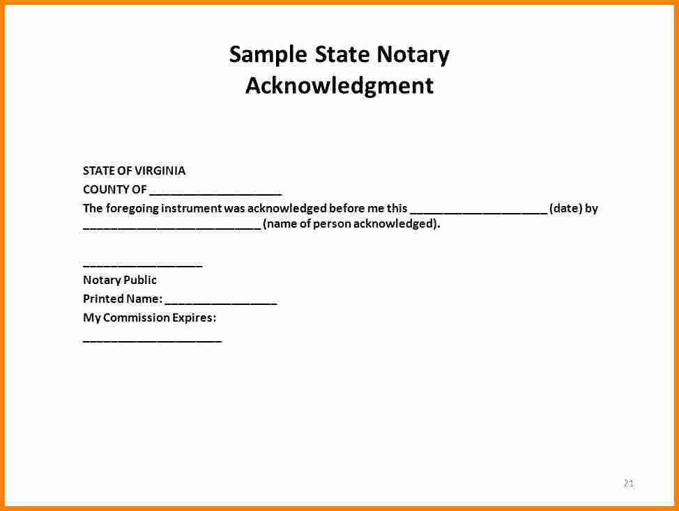 Template for Notarized Letter Beautiful How to Notarize A Letter