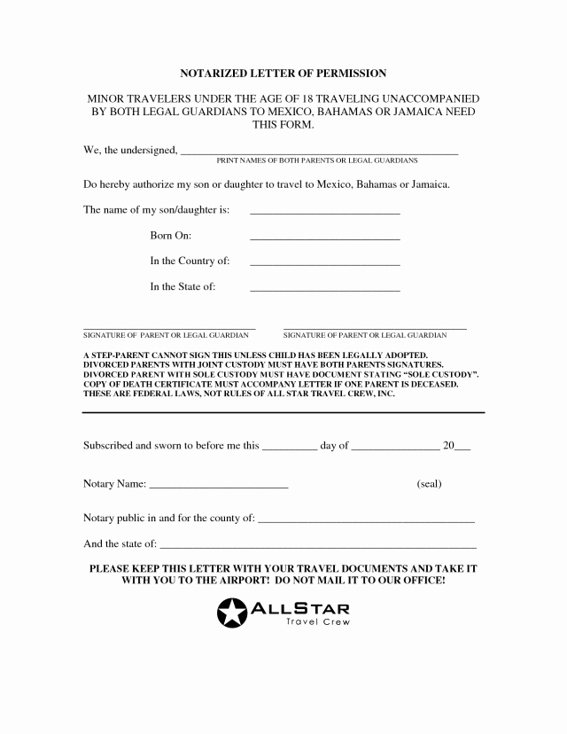 Template for Notarized Letter Best Of Notarized Document Sample Free Download Aashe