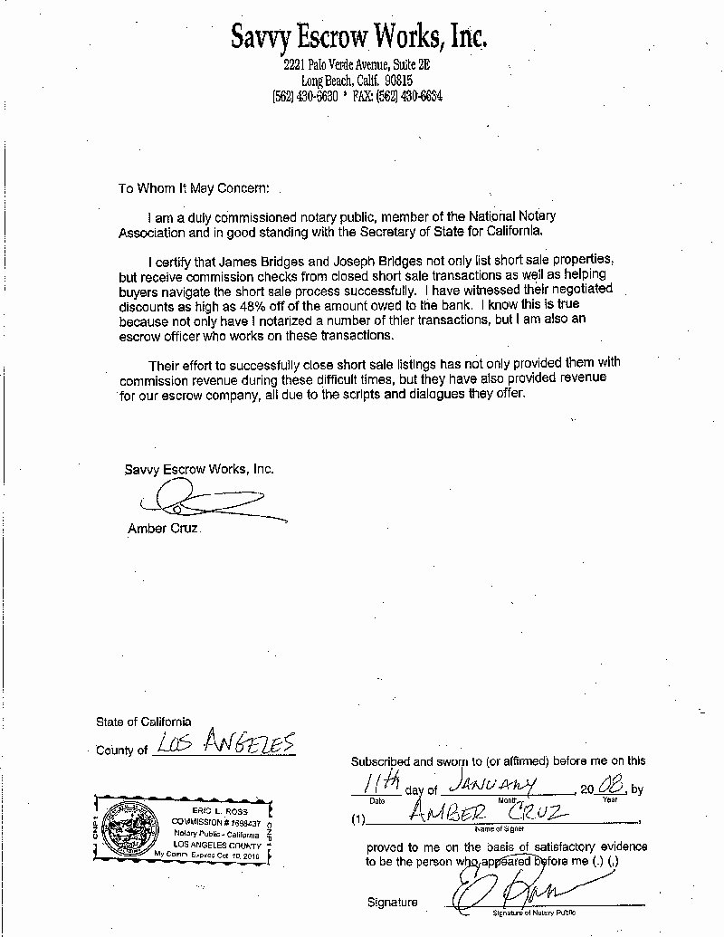 Template for Notarized Letter Unique Notarized Letter Template Word Examples