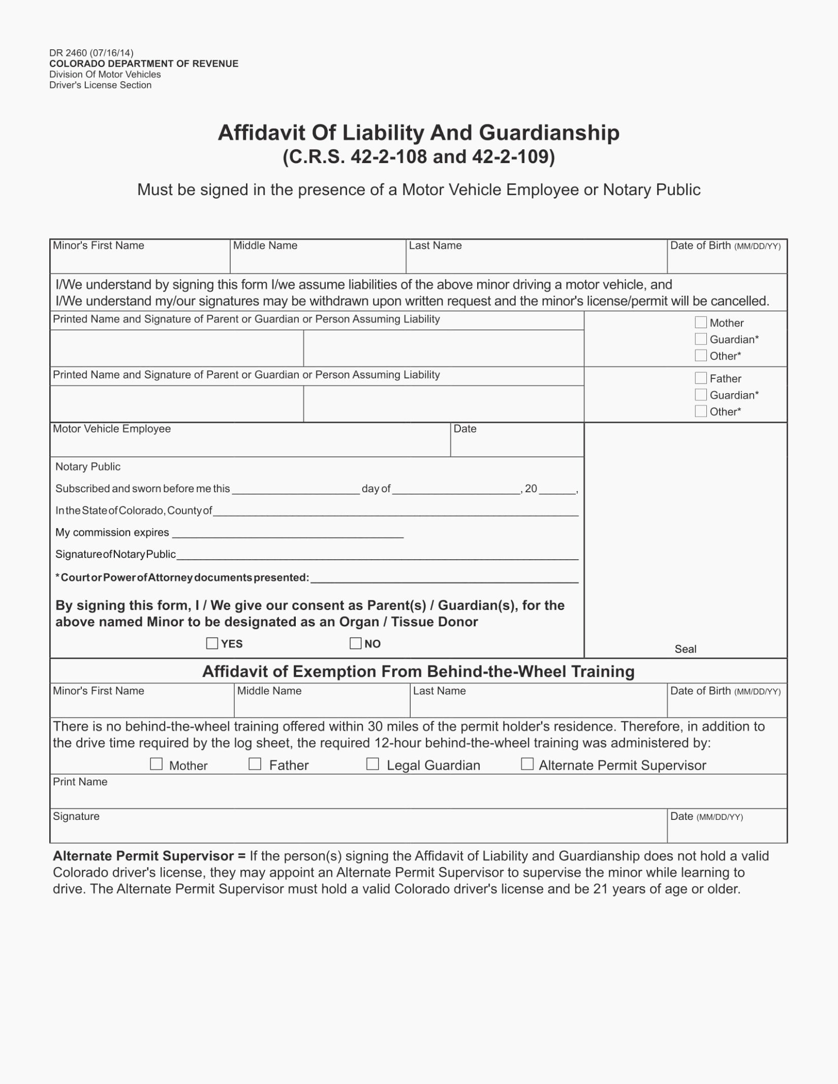 Temporary Custody Agreement Unique How Will Temporary Custody
