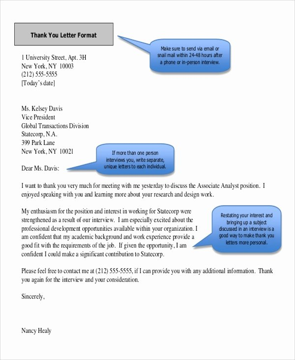 Thank You Letter after event Sponsor Fresh Sample Thank You Letter format 8 Examples In Word Pdf