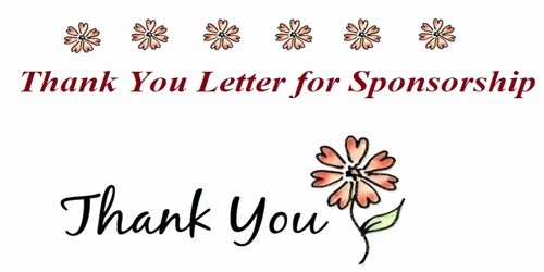 Thank You Letter for Sponsorship Of event Inspirational Sample Thank You Letter for Sponsorship Of An event