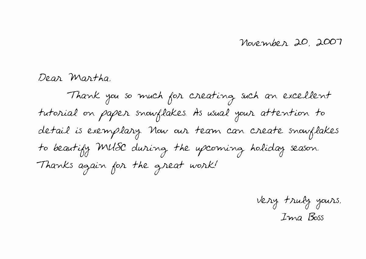 Thank You Letter Outline Luxury Thank You Notes Samples