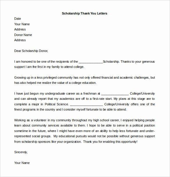 Thank You Letter Outline Unique 41 Free Thank You Letter Templates Doc Pdf