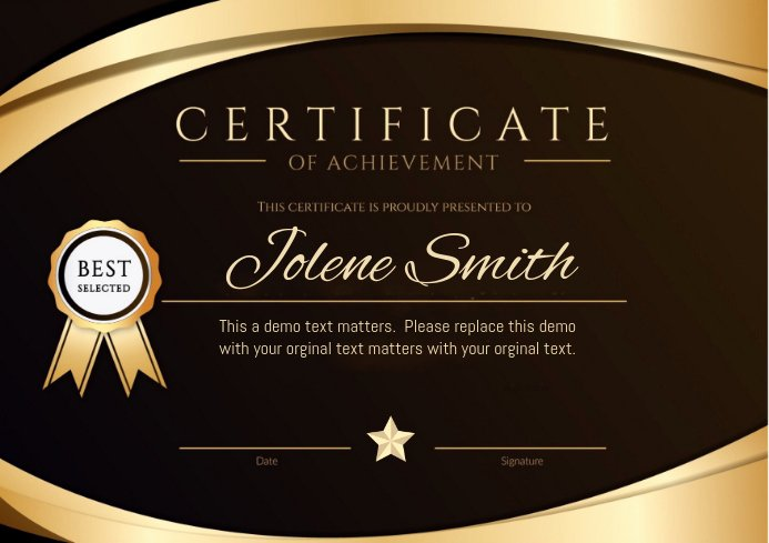 The Bearer Of This Certificate is Entitled to Template Beautiful Copy Of Certificate Of Achievement