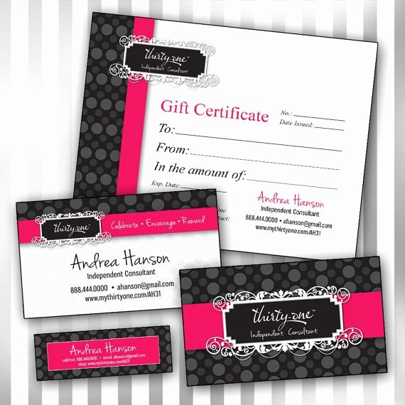 Thirty One Gift Certificate Template Beautiful 79 Best Thirty E Gifts Images On Pinterest