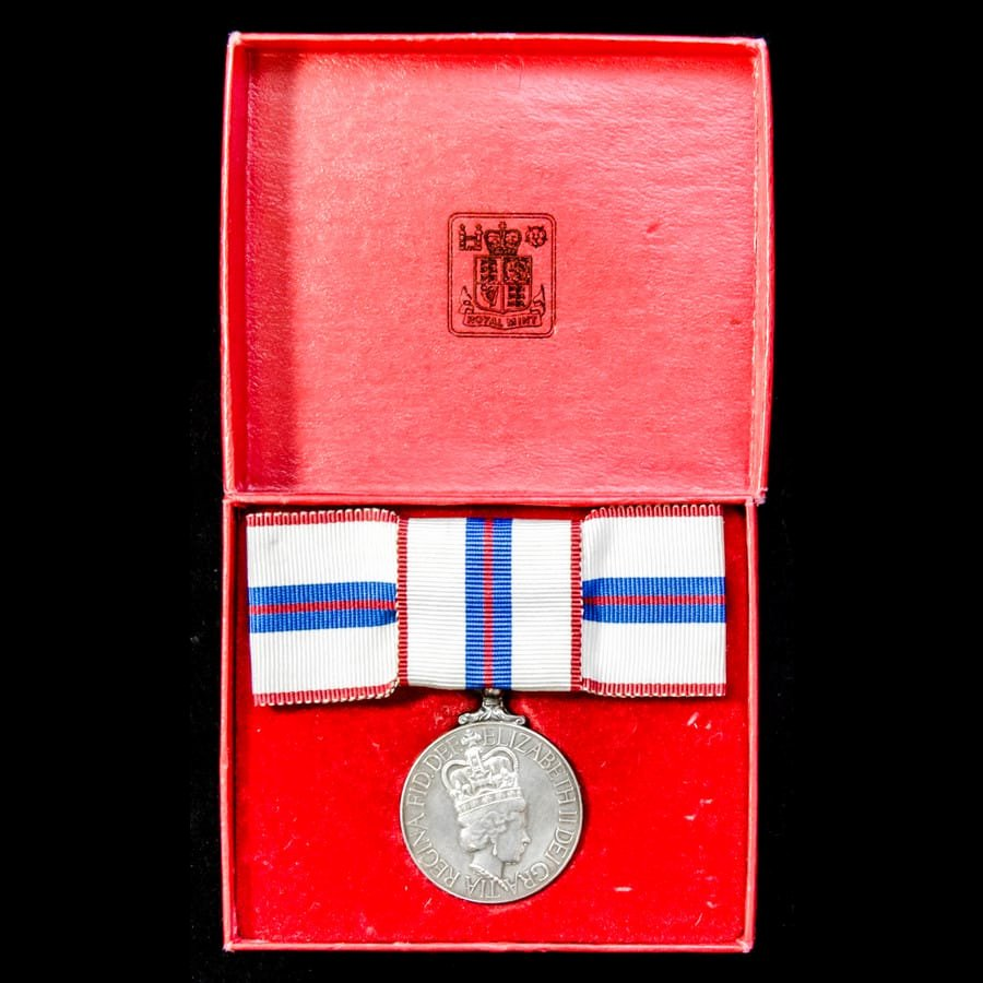 This Certificate is Awarded to Elegant A Boxed Jubilee Medal 1977 with original Award Certifi