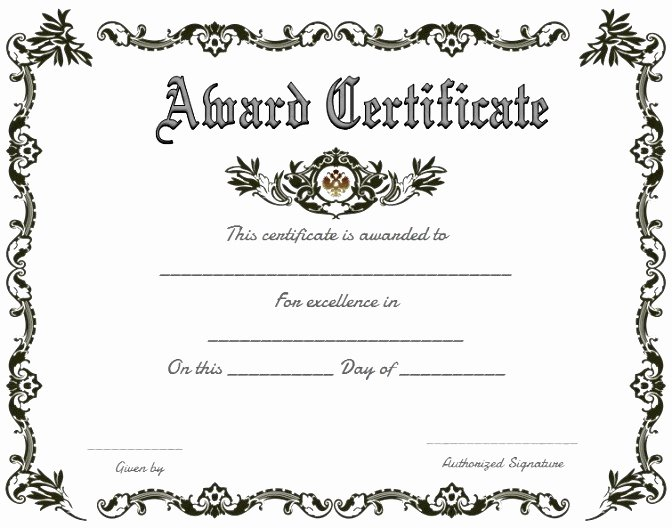 professional business certificate template examples
