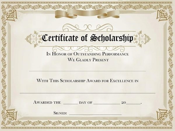 This Certificate is Awarded to New Understanding Award Certificate Templates