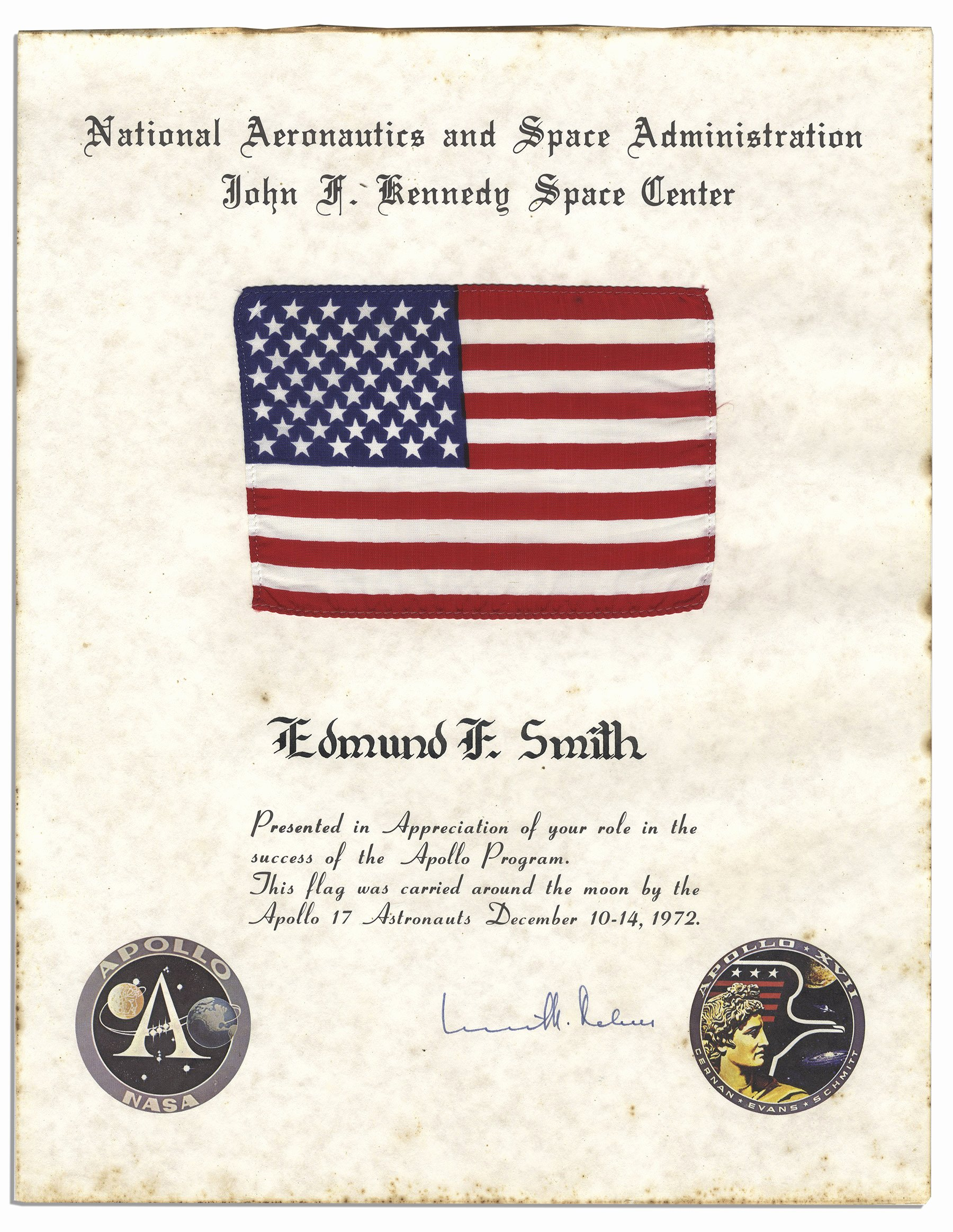 This Flag Was Flown Certificate Template Fresh Us Flag Certificate Template