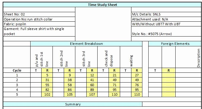 Time and Motion Study Template Excel Download Awesome Index Of Cdn 20 1990 410