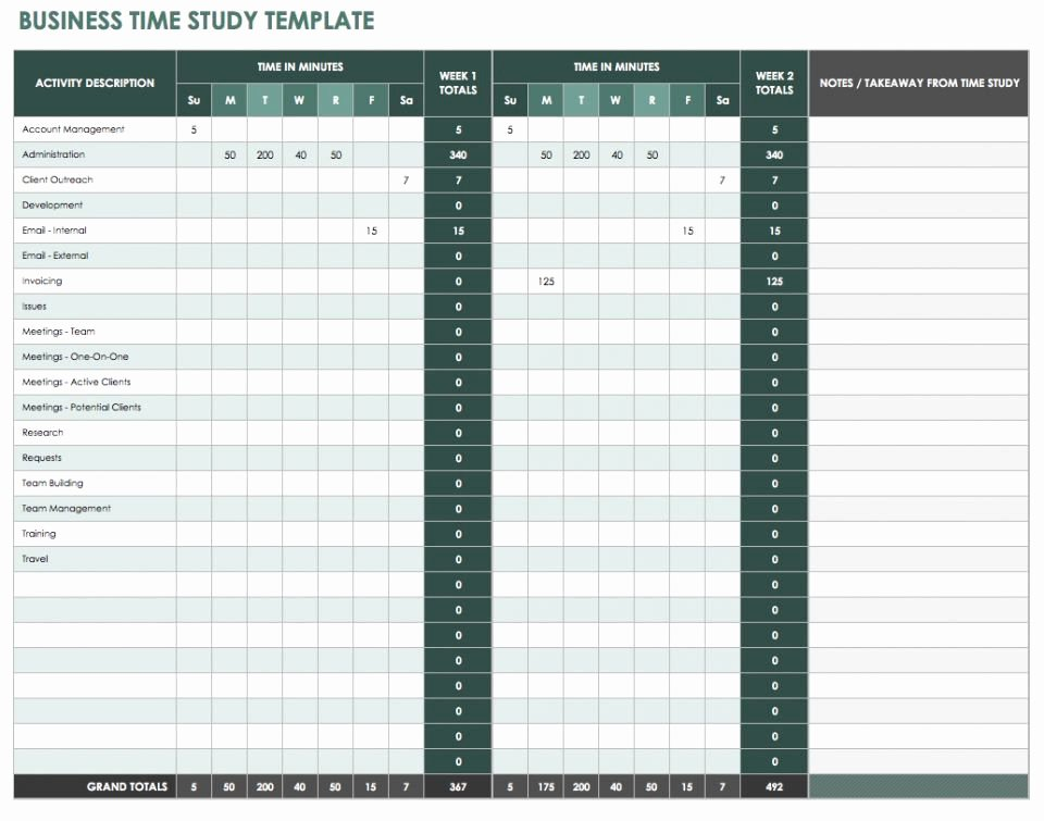 Time and Motion Study Template Excel Download Elegant 30 Time Study Excel Template