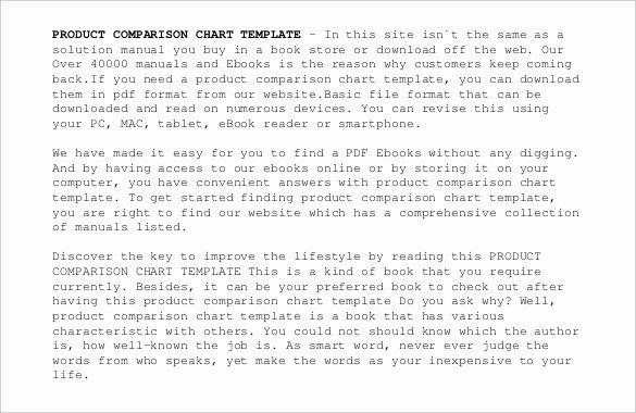 Tire Size Comparison Chart Template Luxury 32 Parison Chart Templates Word Excel Pdf