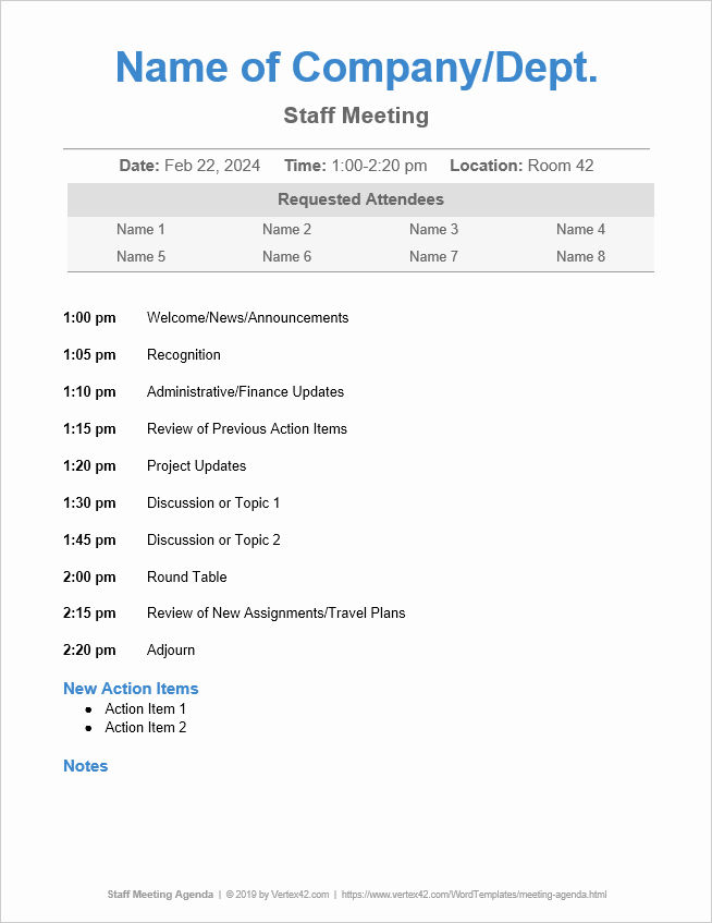 Town Hall Meeting Agenda Template Luxury 10 Free Meeting Agenda Templates