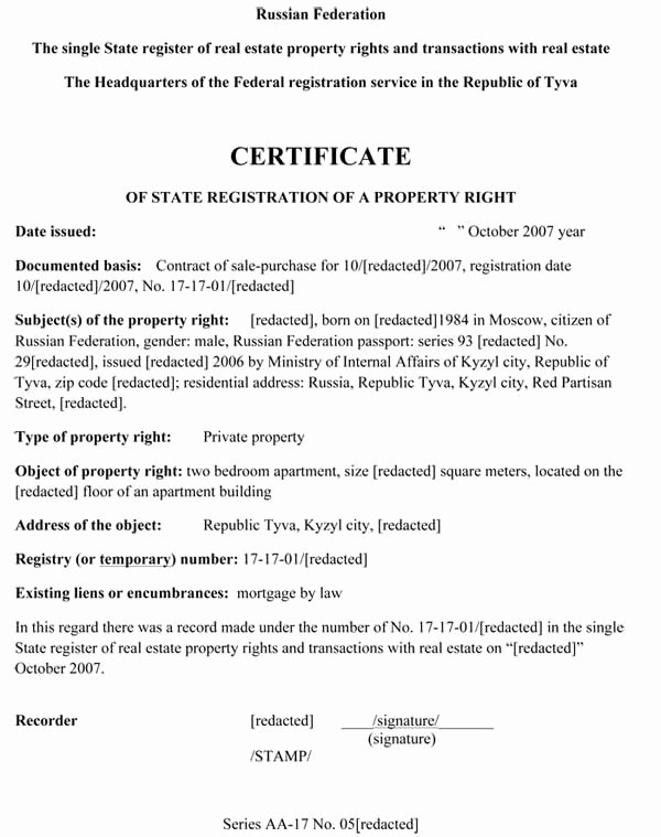 Translation Of Divorce Certificate Template New Translation Of Documents Russian