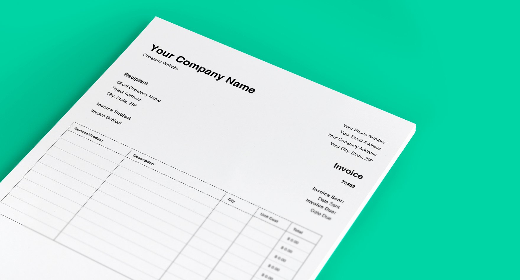 Tree Service Invoice Template Luxury Download Our Free Invoice Template