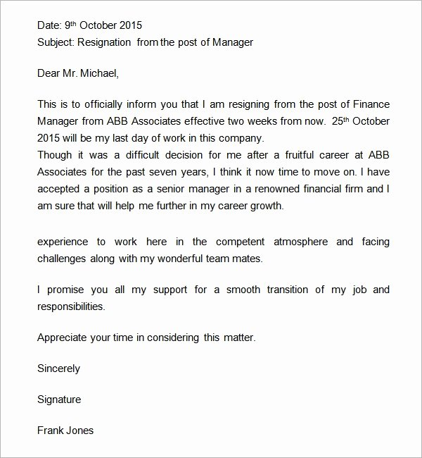 Two Weeks Notice Template Retail Unique Two Weeks Notice Letter 12 Download Free Documents In Word